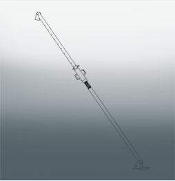 Подкос 1-уровневый телескопический